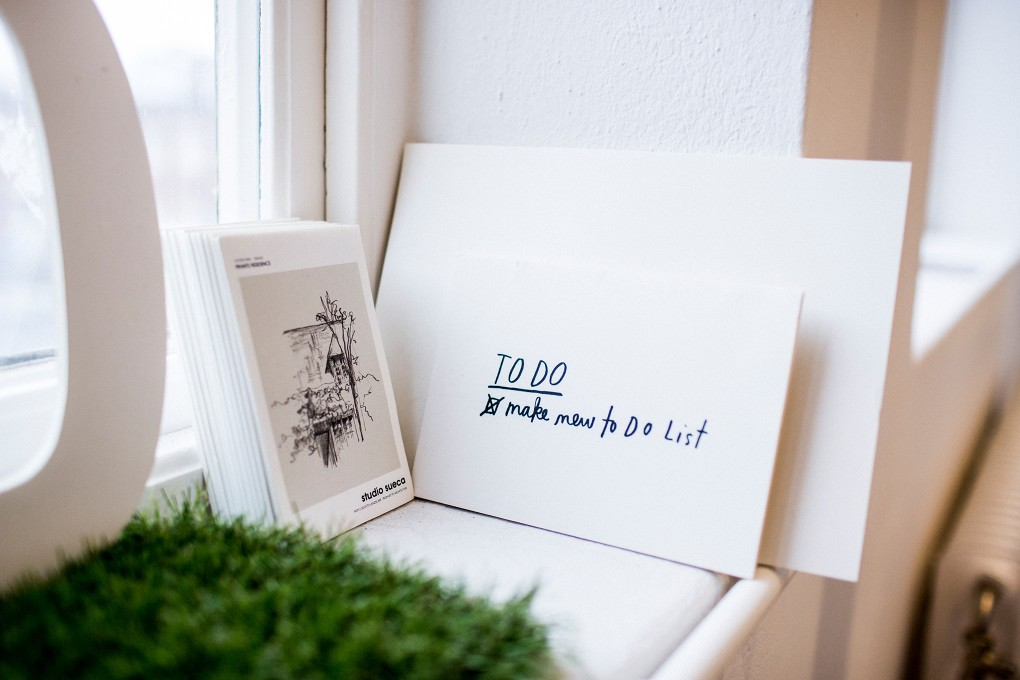 Detalj i kontor vid Norra Grängesbergsgatan i Malmö. Fotograferat för Emoore