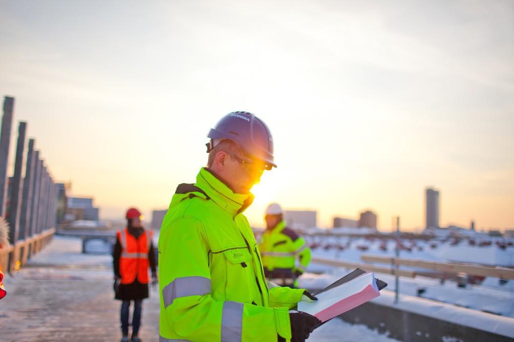 Fotografier ur arbetslivet åt Nordeas bildbank