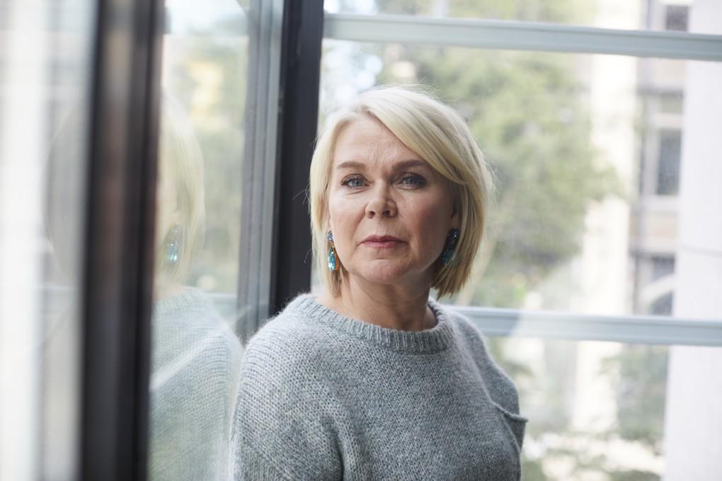 Porträtt av M- Magasins chefredaktör Åsa Lundegård. Fotograferad av Pauina Westerlind