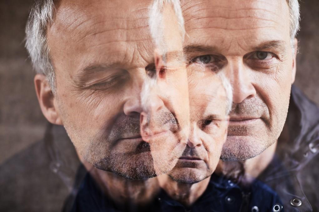 Skådespelar porträtt av Johan Rheborg fotograferat av porträttfotografen Paulina Westerlind
