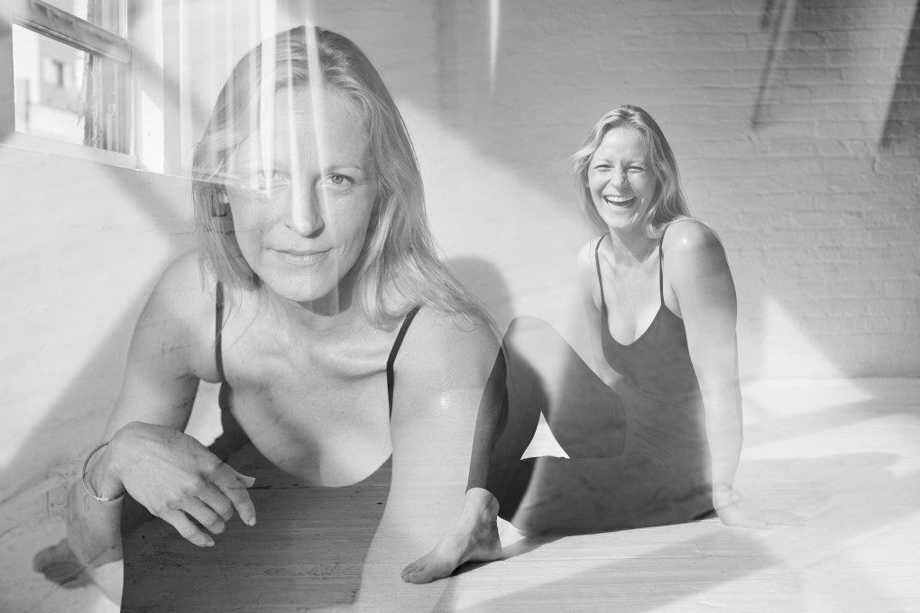 Yoga portraits of Camilla Ahlqvist who runs The Practice, a powerfull yoga and dance inspired training. Photographed in NYC by Paulina Westerlind