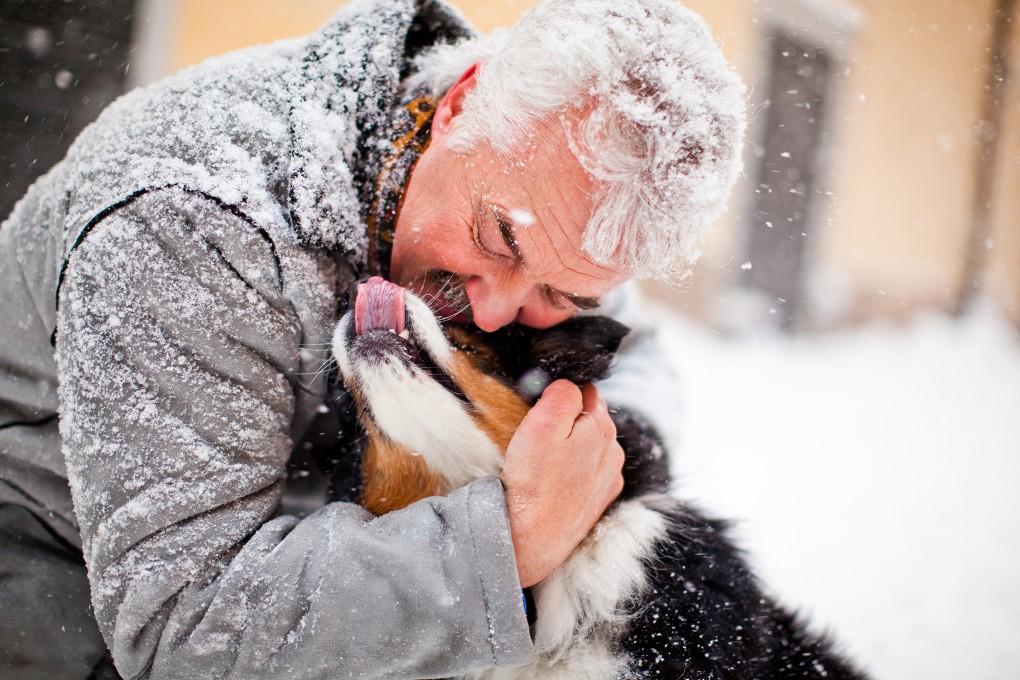 Foto från en vinterdag i Gamla stan till Nordea bildbank