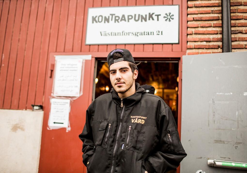 Porträtt av medarbetare på Kontrapunkt vid Norra Grängesbergsgatan i Malmö. Fotograferat för Emoore