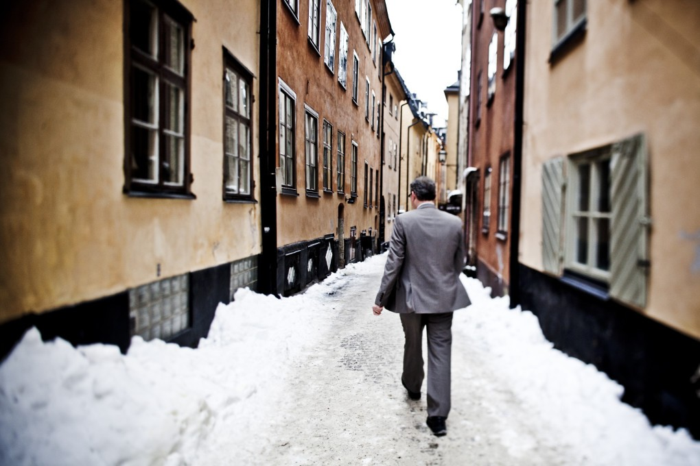 Stärkande naturliga porträtt i urban stadsmiljö, Stockholm. Bästa politiker porträtten fotograferade av Paulina Westerlind