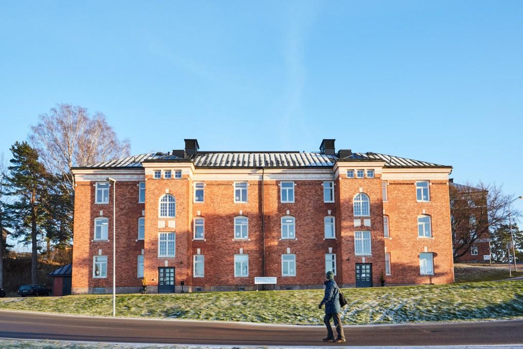 Entren till Vårdcentralen Kassernhöjden i Karlstad Fotograferat av Paulina Westerlind