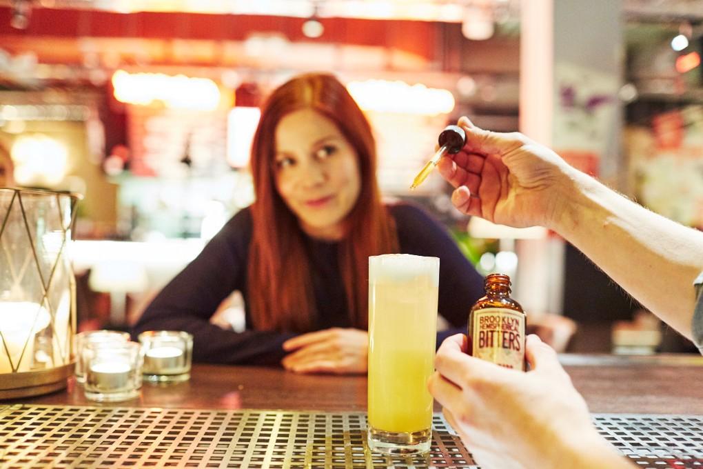 Barfotografier av Paulina Westerlind. Här på restaurang Mother, en krog mitt i Stockholm del av GruppF12.