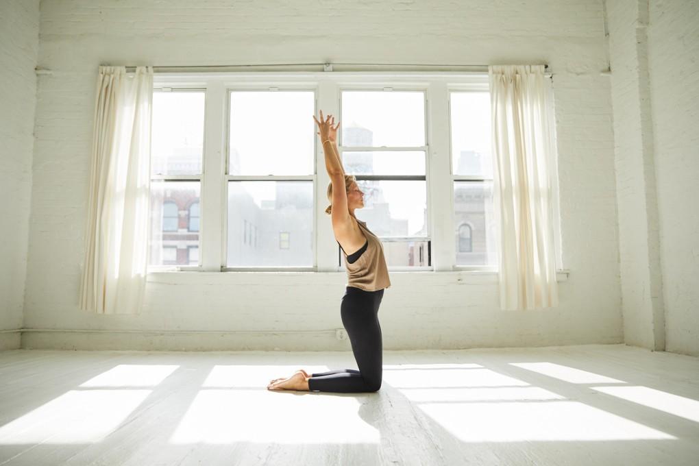 The Practice, en energifull yoga liknande träningsform by Camilla Ahlqvist fotograferad i NYC av Paulina Westerlind