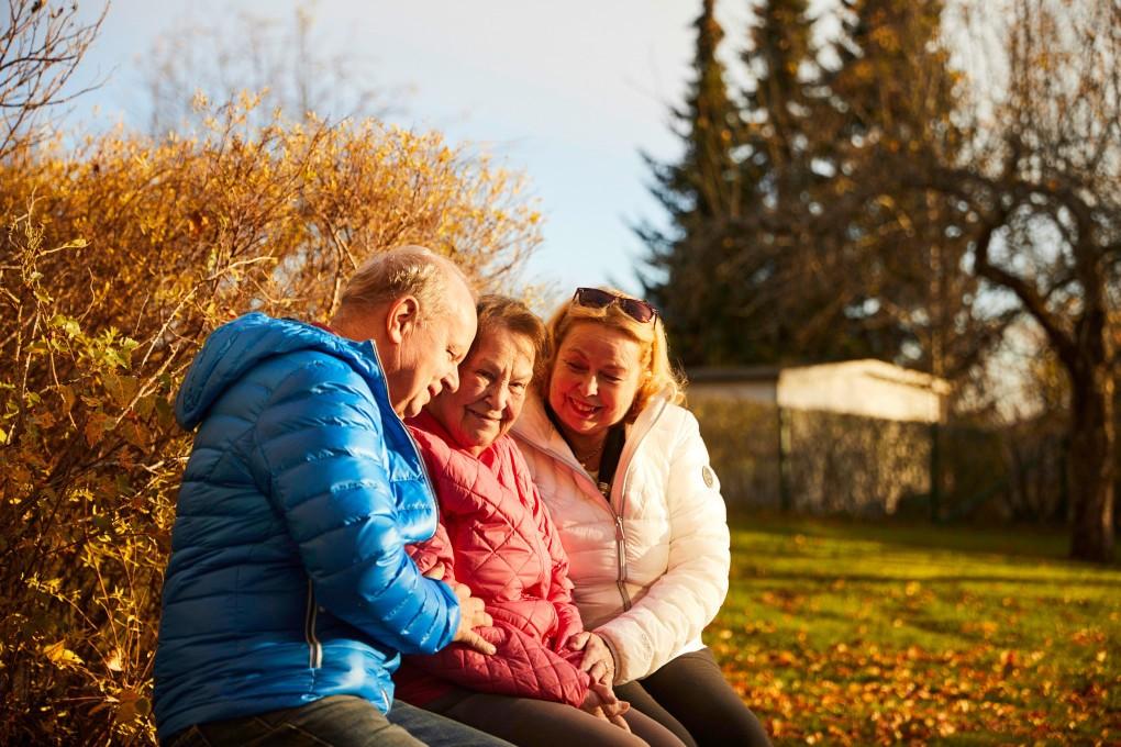 Fotografier från ett äldreboende