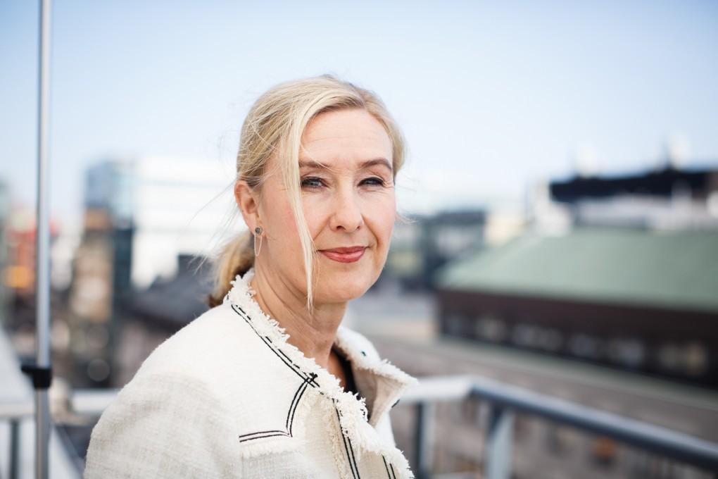 Porträtt av medarbetare på AMF Fastigheter i Stockholms city